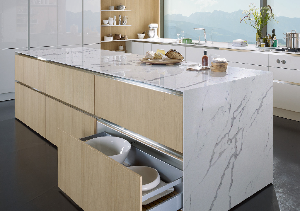 Calacatta Canyon - uQuartz Collections